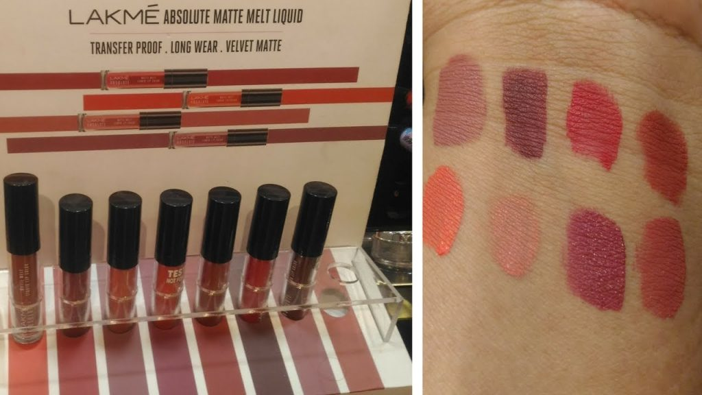 shades of lakme mate lipstick